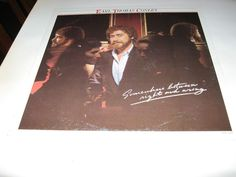 Earl Thomas Conley - Somewhere Between RIght And Wrong , Lp Canada? 82 record nm