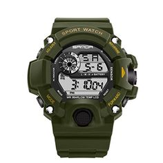 f1558b427c8 Men Sports Watches S-SHOCK Military Watch Fashion Wristwatches Dive Men s  Sport LED Digital Watches Waterproof Relogio Masculino