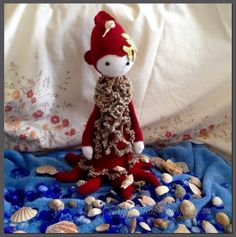 OLEG THE OCTOPUS. Hand made by craftypaulaa. Patterns available from, lalylala.com.