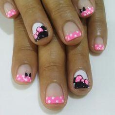 Nail Art Diy, Diy Nails, Cute Nails, Pretty Nails, Paws And Claws, Beautiful Nail Art, French Nails, Nails Inspiration, Erika