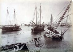 Το λιμάνι της Πάτρας. 1907