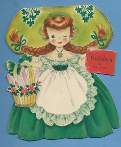 Hallmark Dolls of the Nations, Kathleen of Ireland, #25