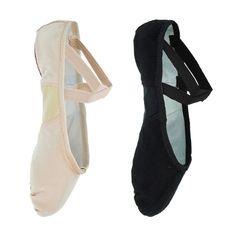 So Danca BAE23 Negro Economy Split Sole Canvas Ballet 6 L aHvml