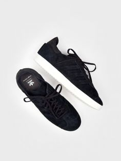 Adidas Originals by Wings+Horns - WH Gazelle 85 Leather Core Black - Antic…