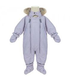 Ver De Terre Baby Suit - Lilac