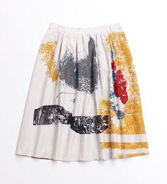 花と少々 スカート