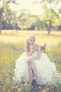 rustic wedding photography, southern weddings, vintage wedding photography, bride and groom portrait, bridal portrait, flower field wedding