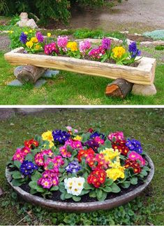 Primulas are beautiful flowers which bloom in spring garden landscaping perennials Primulas, Spring Blooming Plants for Your House and Yard Amazing Gardens, Beautiful Gardens, Gemüseanbau In Kübeln, Flower Garden Design, Flowers Garden, Container Gardening Vegetables, Garden Container, Vegetable Gardening, Wonderful Flowers