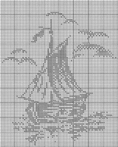 Cross Stitch Sea, Cross Stitch Fabric, Cross Stitch Charts, Cross Stitch Designs, Cross Stitching, Cross Stitch Patterns, Crochet Curtains, Crochet Doilies, Crochet Lace