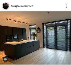 Luxury Kitchen Design, Kitchen Room Design, Kitchen Interior, Kitchen Decor, Küchen Design, House Design, House Extension Design, Kitchen Dining Living, Luxury Homes Dream Houses