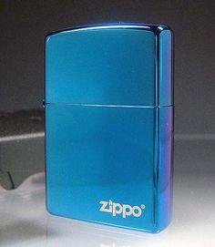 Sapphire Zippo lighter (