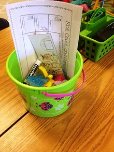 How I Run Math Centers- teacher shares how she sets up and manages her math centers.