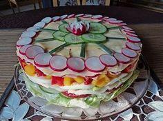 Party - Salattorte (Rezept mit Bild) von Paradiesabbel   Chefkoch.de