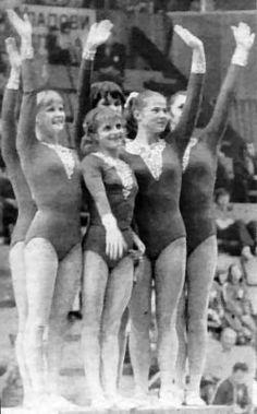 Tourisheva and team 1974 worlds