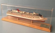 CARNIVAL MIRACLE cruise ship MODEL ocean liner boat 1:900 scale by Scherbak