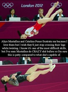 Helicopter legs are not pretty legs... At least Musty still has her toes pointed.