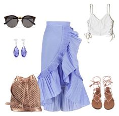 """Untitled #54"" by sumely on Polyvore featuring Hollister Co., nooki design and Illesteva"