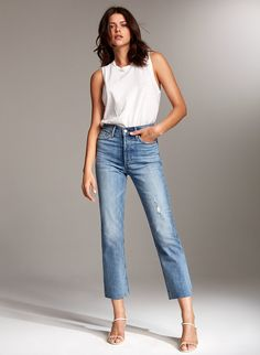 Women Jeans Outfit Paperbag Waist Pants Smart Casual White Casual Formal Wear Mens Fancy Jeans Top Black Pants Mens Jeans And Heels Outfit – azalearlily
