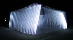 The idea of - I S O T O P E S -  by NONOTAK studio is to create a dematerialized space defined by light.