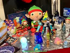 To celebrate 50 years since the moon landing the elves created a space scene in the living room. The Elf, Elf On The Shelf, Woodland Elf, Moon Landing, Father Christmas, Magical Creatures, Family Traditions, Easter Bunny, Elves