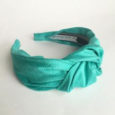Hey, I found this really awesome Etsy listing at https://www.etsy.com/listing/529061829/aqua-blue-pure-silk-top-knot-headbands