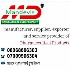 Mandevis Pharma is an ISO 9001:2015 and GMP certified global pharmaceutical company, involved in the areas of product marketing & manufacturing. Our focus on specialty segments in India and simultaneous opening of newer markets abroad which will help us to achieve a niche in global pharmaceutical arena.  If anyone is interested in taking pcd franchise, pharma franchise all over India. Contact now:  8968606303, 8968605303, 7009906304.