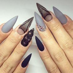 #yegnails #closeup # ALL DONE BY FREEHAND PAINTED #edmontonnails #clientview #780nails #edmontonnailtech #cute #fade #edmlifestyle #edm #swarovski #blingnails #acrylicnails #fullset #yegnailtech #lacenails #nails #handpainted #freehanddesign #colors #nailart #no19 #vetrogel #silverleaf #goldleaf #nails #halloweennails #blacknails #blackdesign
