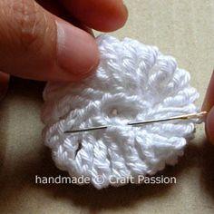 Crochet Tutorial: Yo-Yo Puff
