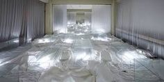 Image result for art installations with bed