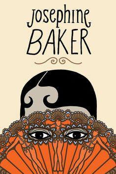 JOSEPHINE BAKER art print by Farah Allegue.