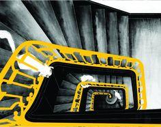 escheresque stairs and cats