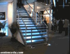 Fall Down Stairs GIF I'm alright. | I'm alright.