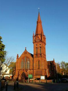 Cambridge Road Methodist Church, Kings Heath, Birmingham. Photo : Christine Wright Birmingham England, West Midlands, Old Buildings, Cambridge, United Kingdom, Roots, Scotland, Ireland, History
