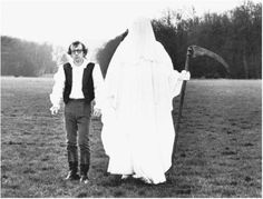 """Woody Allen in """"Love and Death,"""" 1975."""