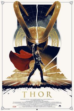 Matt Ferguson Thor Movie Poster From Grey Matter Art
