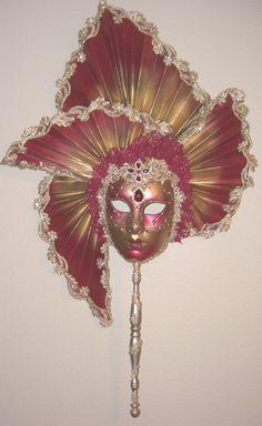 Fanning Venetian Masks