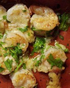 Parmesan Encrusted Garlic Shrimp - meh