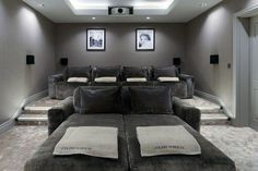 Luxury home theatre with some rather special home cinema seating. All these seats are recliner seats. Luxury home theatre with some rather special home cinema seating. All these seats are recliner seats. Home Theater Room Design, Movie Theater Rooms, Home Cinema Room, Home Theater Setup, Best Home Theater, Theatre Rooms, Movie Rooms, Home Cinema Seating, Cinema Seats