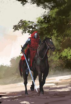 knight by artcobain.deviantart.com on @DeviantArt