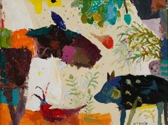 Companeros; Rodney Hatfield; 24 x 18; oil