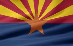 Arizona flag image.