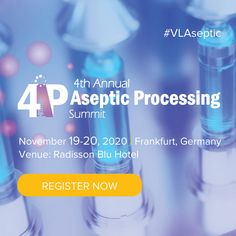 At this summit, during the two days of insightful case studies, participants will be given the opportunity to network with peers involved in pharmaceutical manufacturing, aseptic fill and finish, quality control, engineering, and container development.  Many more interesting and up-to-date topics will be included in this year's program, so stay tuned and see you in November 2020 in Frankfurt! Process Engineering, Mechanical Engineering, Control Engineering, Pharmaceutical Manufacturing, Date Topics, Thermo Fisher, Applied Science, Strategic Planning, Risk Management