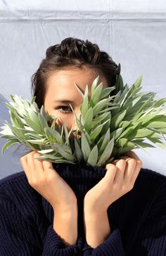 Floral design: Supernatural / Photographer: Alix-Rose Cowie / Styling: Kate Desmarais / Model: Shelly Chen