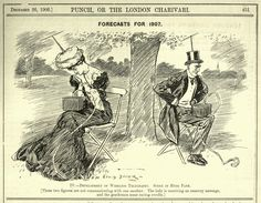 Are smartphones unhealthy? A 1906 Punch Magazine cartoon perfectly predicted the loneliness and anti-social behavior created by wireless devices — Quartz