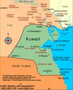 Kuwait Atlas: Maps and Online Resources | Infoplease.com
