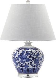 "Dalton 20.5"" H Table Lamp with Empire Shade"