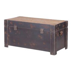 Industrial Large Trunk – Cowshed Interiors