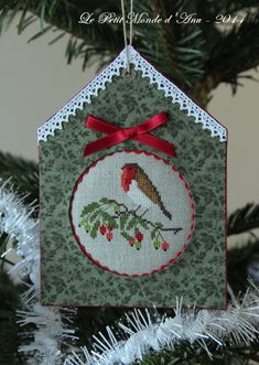 Christmas Bird By Luli