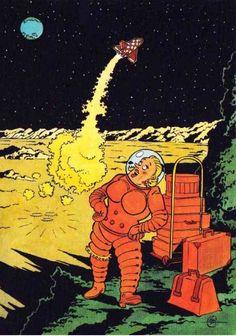 classé dans Objectif Lune & On a marché sur la lune. Oreille cassée