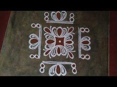 Simple Rangoli Border Designs, Rangoli Borders, Rangoli Designs Flower, Free Hand Rangoli Design, Rangoli Patterns, Small Rangoli Design, Rangoli Ideas, Rangoli Designs Diwali, Diwali Rangoli